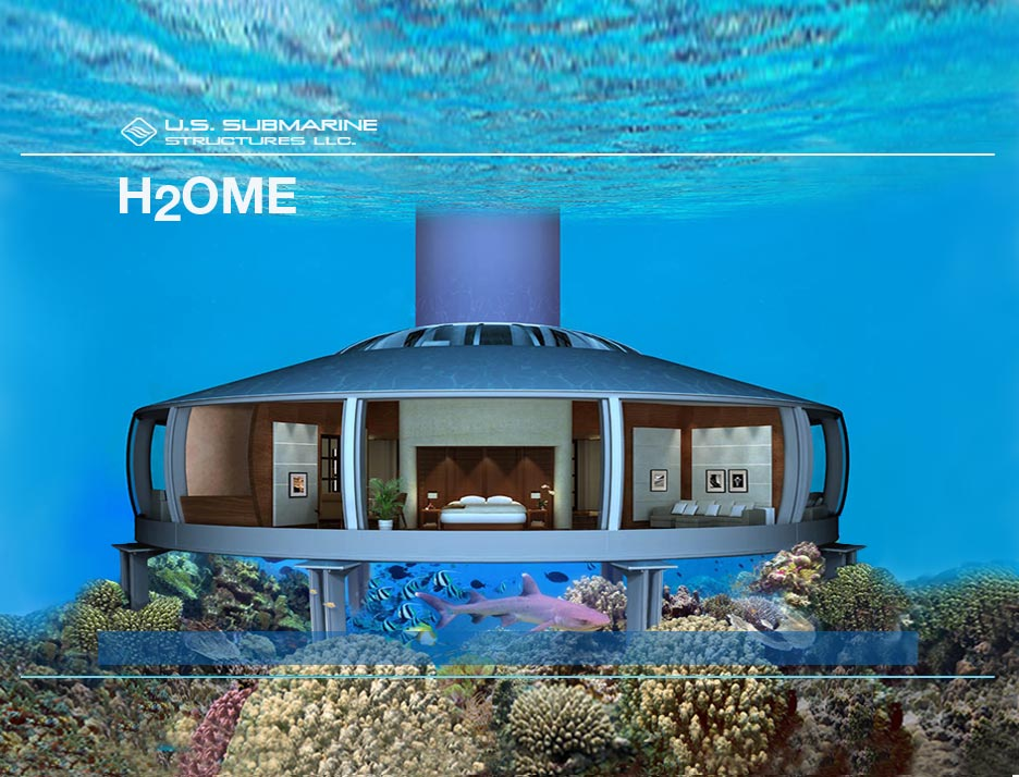 underwater habitats, undersea homes, sub-sea dwellings